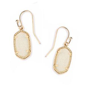 Kendra Scott Iridescent Drusy Lee Earrings
